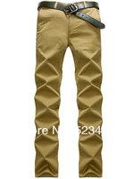 Autumn winterHigh Quality 2014 New Linen Pants 100% Cotton Men Brand Business Casual Pants Cotton Linen Free Shipping
