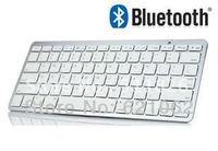 New Bluetooth Wireless White Keyboard for PC Macbook Mac ipad iphone free shipping