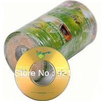 Free shipping,Blank disc  Banana(OEM) 8cm 3inch MINI CD-R Recordable  CD 2X-32X ,1case of 100CDs , 215M,23Min CD-R