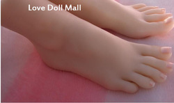 sex real doll solid silicone Pussy Feet fake women feet model shoes shown girls foot 3706 EMS free shipping(China (Mainland))