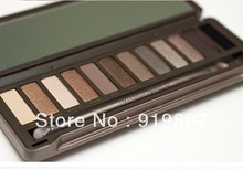 12 COLOR Professional NAKED 2 generation EYE SHADOW POWDER EYESHADOW palette makeup set(China (Mainland))