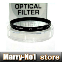 Free shipping + Tracking Kenko 58mm UV Filter For Pentax for Can&n 18-55mm / 55-250mm for Nik&n for S&ny for &lympus