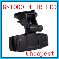 free shipping New! HD 720P Car DVR GS1000 1.5' LCD DVR Camera Recorder Video Dashboard vehicle Cam ( no ambarella no gps )(Hong Kong)