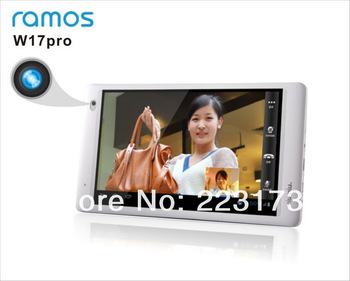 Free shipping  RAMOS w17pro V3.0  Android 4.1 1G RAM 8G Flash 1024*600 IPS Screen  WiFi HDMI tablet PC