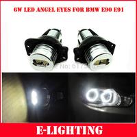 2 Pieces(1 Set) 2* 6W 12W LED Angel Eyes Marker for BMW E90 E91325i, 325xi, 328i, 328xi, 330i, 335i, 335xi 06-08