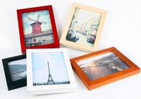 Modern design simple wooden photo frame