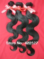 retail  free shipping 1pcs/lot Brazilian human hair queen hair products remy virgin hair extension high quality AAAAA body wave