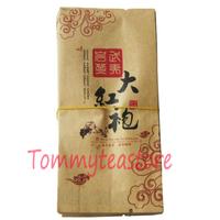 Free shipping 500 PCS / lot Da Hong Pao empty vacuum bags for Big Red Robe tea aluminum foil inside Kraft paper bag