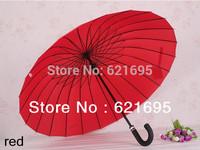 Hot selling High quality 24k Brand Rods Mabu Big Umbrella Bent Super Creative Windproof Umbrellas Rain Umbrella Free shipping