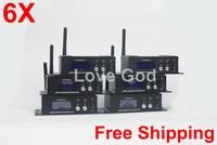 Fastest speed Wireless DMX512 Transmitter DMX512 disco lighting for american DJ dj equipment 6X