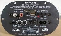 Wholesale YD - AC808 three card U disk inserted with type power amplifier board