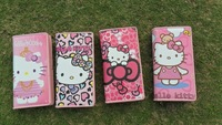 Hello Kitty Wallet Cartoon Wallet Lovely Bag Beautiful Wallet Unique Design Great Gift   5piece/lOT