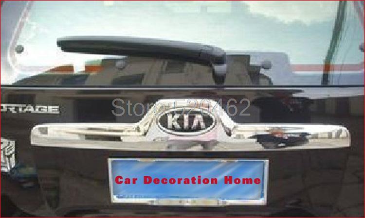 Chrome Rear Trunk Streamer Kia Sportage rear trunk srteamer 2007 2008 2009(China (Mainland))