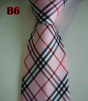 Factory On Sale! 100% Silk Stripe Tie Necktie Classic Man's Ties Necktie Men's suits tie Necktie pinstripe stripe blue B6