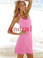 2pc free shipping New Arrival sexy beach wear bikini dress sexy swimwear women beachwear more than 10 colors size S,M,L,XL