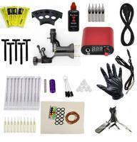 New  tattoo Kit Rotary Gun Machine/COMBINEPower/Tube/Needle/250ml Inks/caps/On sale/CN/More
