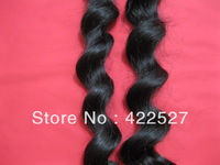Best selling Freeshipping virgin Brazilian hair queen hair products remy human hair extension high quality natural wave color1b#