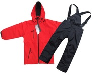 2013 famous brand kids ski suits snow skiing waterproof  jacket and pants for boys sportwear  winter plus size free shipping