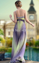 hot sale high quality one-shoulder floor length prom drsses celebrity dresses homecoming dresses party dresses for plump woman(China (Mainland))