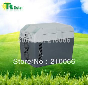solar freezer Portable mini fridge household food refrigeration automobile, motorcycle, travel food refrigerated