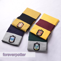 Free shipping Brand-new HARRY POTTER Gryffindor/Slytherin/Ravenclaw Adult Scarf Christmas Party Gift Cosplay Accessory