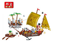 Banbao Pirates Ship Ports 8707 Building Block