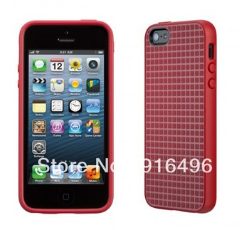 1pc New SK Stylish High Contrast Pixelskin HD case for iPhone 5 for Grip for iphone 5G with Freeshipping