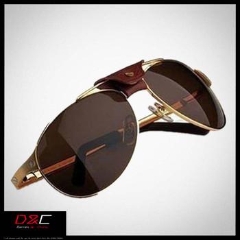 Italy brand 2013 Fashion glasses male polarized sunglasses large sunglasses Brand  Metal Classic Sunglasses men brand designer 1
