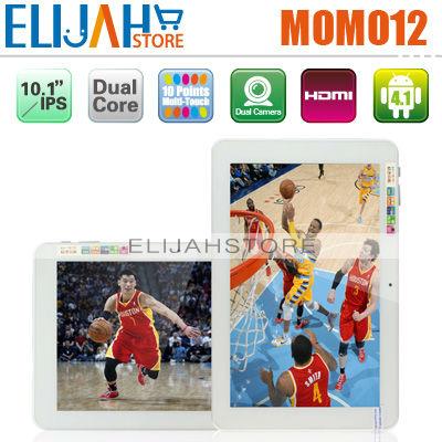Original Ployer momo12 RK3066 Dual Core tablet pc 10.1'' IPS Capacitive 1GB 16GB Android 4.1 Dual Camera Momo 12 HDMI Bluetooth(China (Mainland))