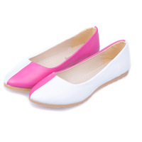 New 2013 feshion popular spring and autumn flats wedding pointed round toe shoes for women loafers flat women's ballets shoes