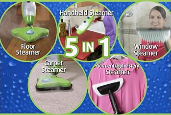 5 in 1 Steam Mop X5, Steam Cleaner, Cleaning Mop(China (Mainland))