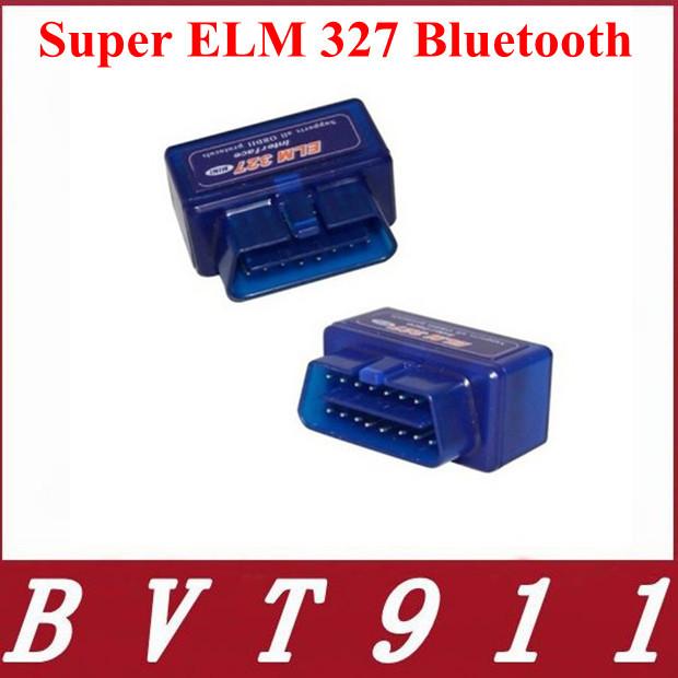 Top-Rated Free Ship New Mini ELM327 Interface V2.1 OBD2 II Bluetooth Car Auto Diagnostic Scanner Tool OBD2 Wireless Mini ELM327(China (Mainland))