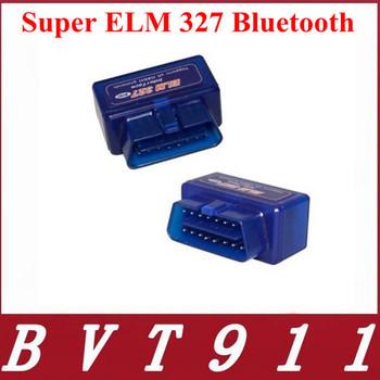 Top-Rated Free Ship New Mini ELM327 Interface V2.1 OBD2 II Bluetooth Car Auto Diagnostic Scanner Tool OBD2 Wireless Mini ELM327
