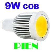 COB GU10 LED Lamp 9W E27 B22 SMD LED Spot Light Home Bedroom LED down Lamp High quality 110V 220V  Free Shipping 2pcs/lot