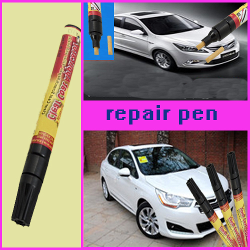 3pcs Magic Fix It Pro Clear Car Scratch Repair Remover Pen Simoniz clear coat applicator Worldwide FreeShipping(China (Mainland))