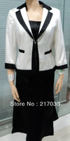 lady's skirt suits (three in one)! business suits  white skirt suits short skirt suits150