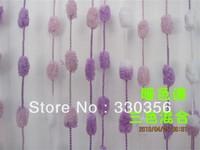 Decorative diversity multicolor small plush ball line curtain 1 * 2 complete