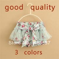 5pcs/lot,wholesale 2013 floral shorts girls clothing childen's Culottes,kids pants 3 colors