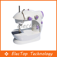 Free Shipping New Multi-function Mini Portable Electric Sewing Machine Small Home Using