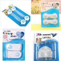 4kinds 10PCS Bendy Transparent corner of the table Door Drawers Safety Lock For Child Kids Baby FREE SHIPPING