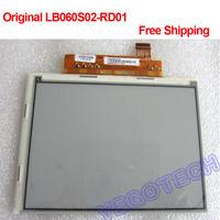 "Original 6"" E-ink Display LB060S02 RD01, ED060SC8 For  E-book Reader Free Shipping"