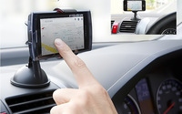 Universal Car Windshield Mount Portable Holder Bracket Support For Cell Phone iphone 5s samsung S5 Nexus 5 4