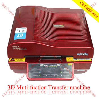 New Design 3D Multifunctional Sublimation Heat Press Machine for Mug Cup Phone Case 3d Vacuum Heat Transfer Machine 110V or 220V