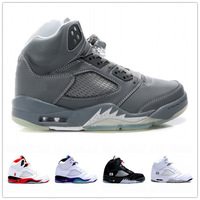 Free Shipping Fashion Brand Cheap Men/ Women Air Sole Basketball Shoes 5 V High Quality With Wholesale Price, Size 36-47