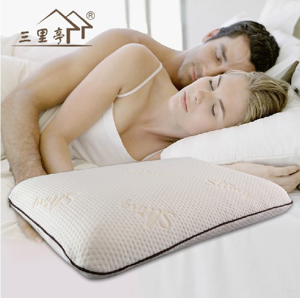 Good Velvet or air-layer cloth of jacquard big comfortable brake shape Memory foam pillow good for health(China (Mainland))