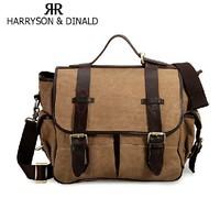 Outdoor cross-body bag casual canvas men bag camera bag one shoulder bag