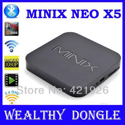 MINIX NEO X5 RK3066 Dual Core Cortex A9 Google Android TV Box Wireless Bluetooth USB RJ45 HDMI Internet Smart TV Box with Remote(China (Mainland))
