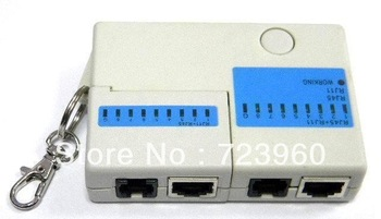 On sales Ethernet 4 Port RJ45 RJ11 Network LAN USB Cable Tester  lan cable testers
