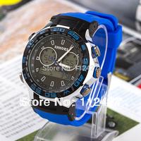 2014 New Arrival digital watch sport watch men mechanical had winnd military watch Silicon Strap Watches Wristwatch--SP004