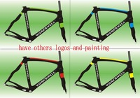 super light Full Carbon Fiber Road Bike/Bicycle Frames New , Road Racing Bike Dogma carbon Frame,paint logo please contact us .